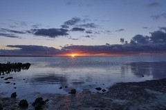 Sonnenuntergang Wurster Nordseeküste by matthiashinken