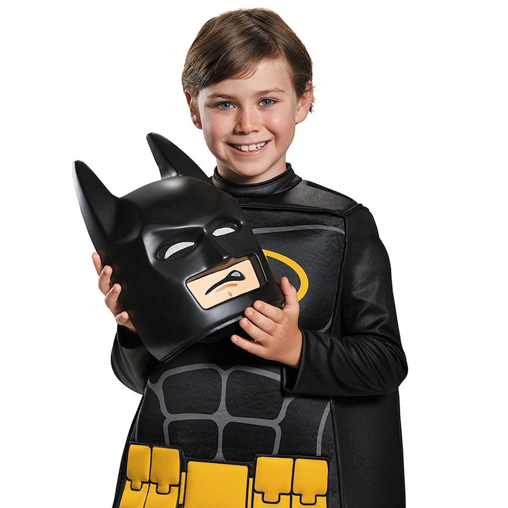 LEGO® 樂高蝙蝠俠電影【蝙蝠俠角色扮演服裝】Batman Prestige Child Costume