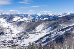 Perfect ski day at Beaver Creek