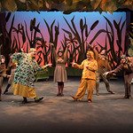 A Year With Frog and Toad - Arvada Center 2017 - Lindsay Weidig, Melissa Morris, Brandon Bill, Maggie Tisdale, Matt LaFontaine, Carter Smith, Ben Griffin (left to right) M. Gale Photography 2017