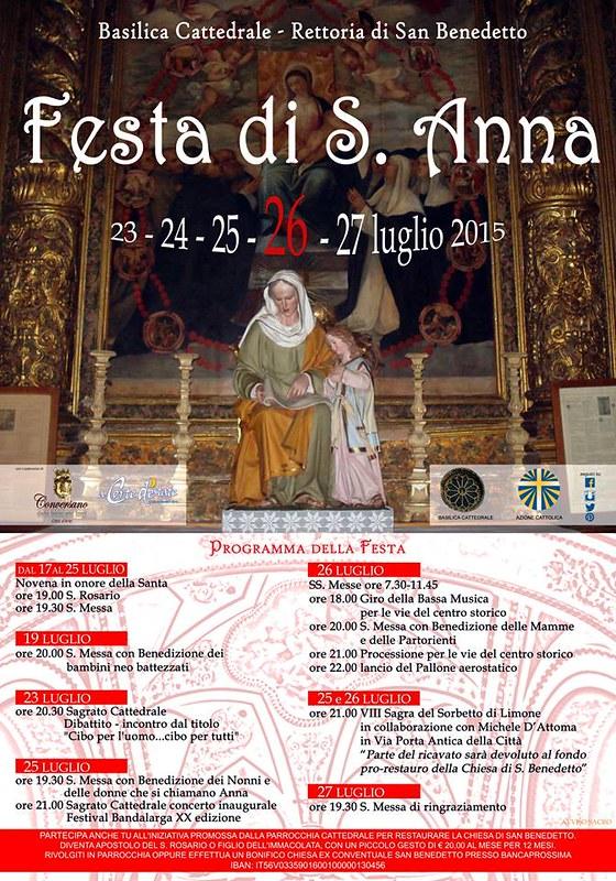 Conversano- Festa di Sant'Anna