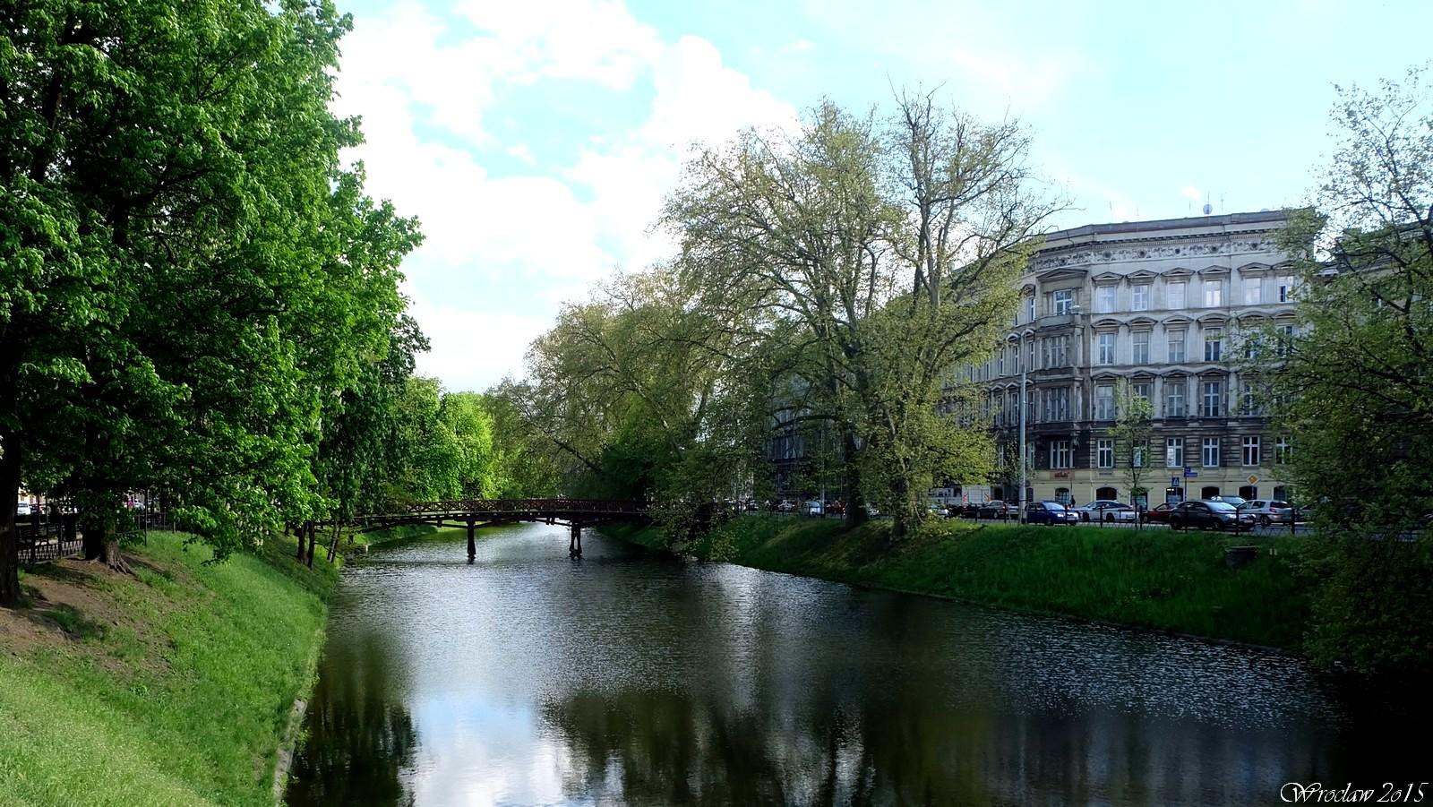 Bulwar Tadka Jasińskiego, Wroclaw, Poland