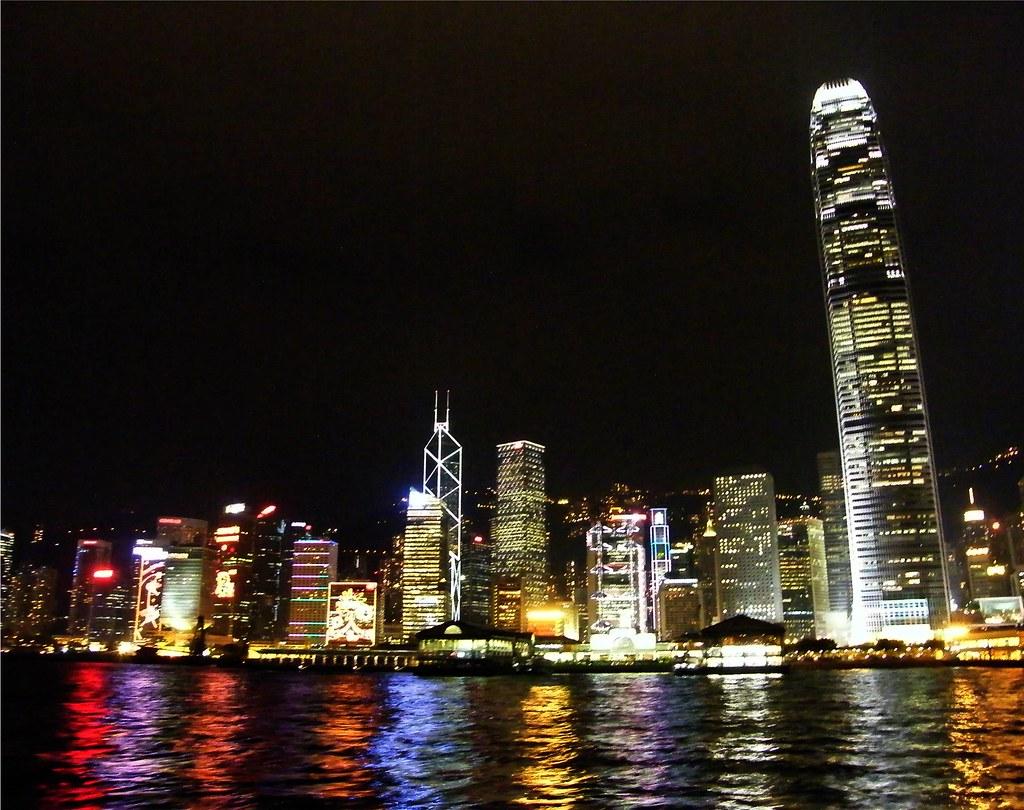 Hong Kong Landscape Reflection
