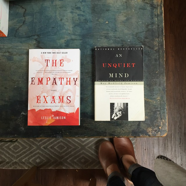literary pairings: empathy exams and an unquiet mind