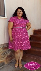 Simplicity 1419 Lisette Dress