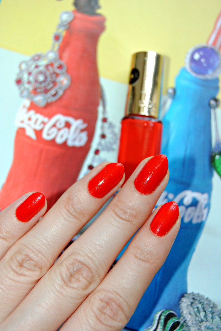 Loreal Nail polish_ Spicy orange (2)