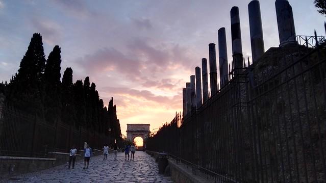 Beim Forum Romanum