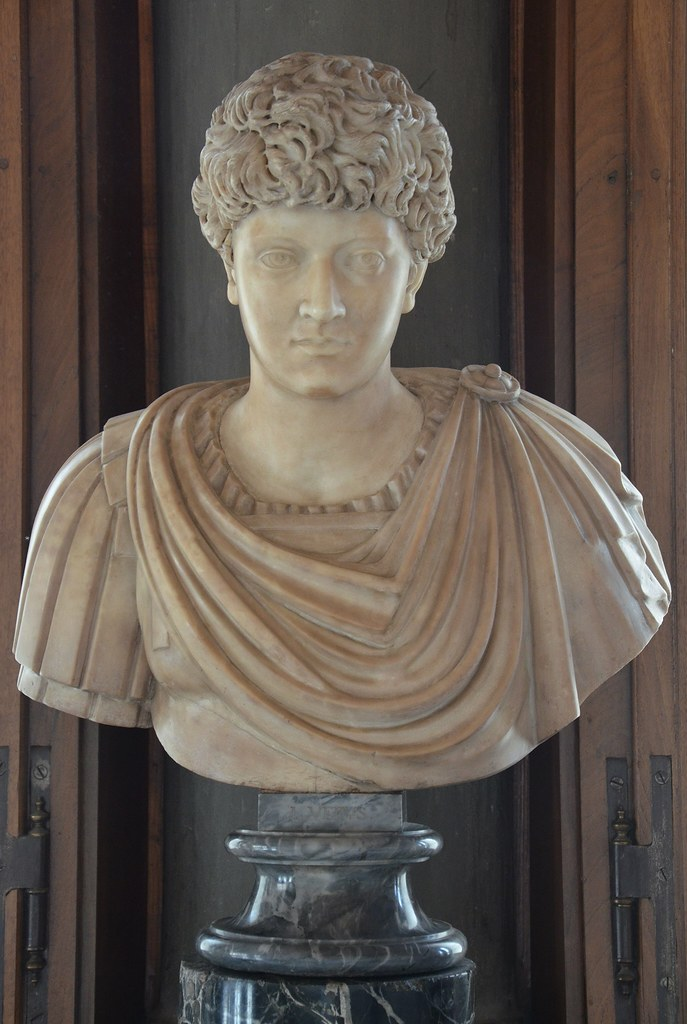 Portrait of an unknown young man from the Antonine era (previously thought to be Lucius Verus or Marcus Aurelius), Galleria degli Uffizi, Florence