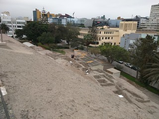 Bild von Huaca Huallamarca. peru lima