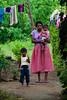 Sri Lankan Mother and Children