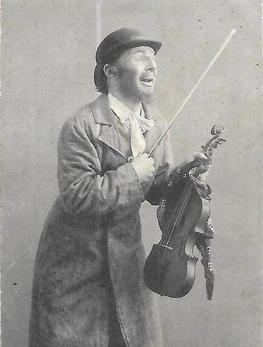 The Jewish violonist Leibke