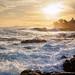 Sunset & surf by Art Walaszek