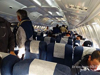 AeroDesierto B737-200 pasajeros (RD)