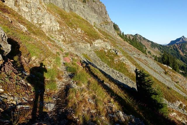 Chickamin Ridge traverse