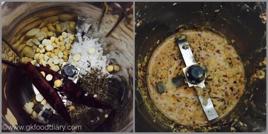 Spring onions stir fry - step 2
