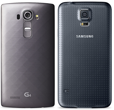 LG G4 and Galaxy S5