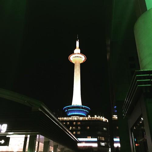 京都の濃い夜は終了。 多分、新しいことが始められる。