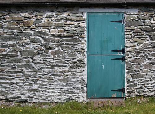shed door at Moone