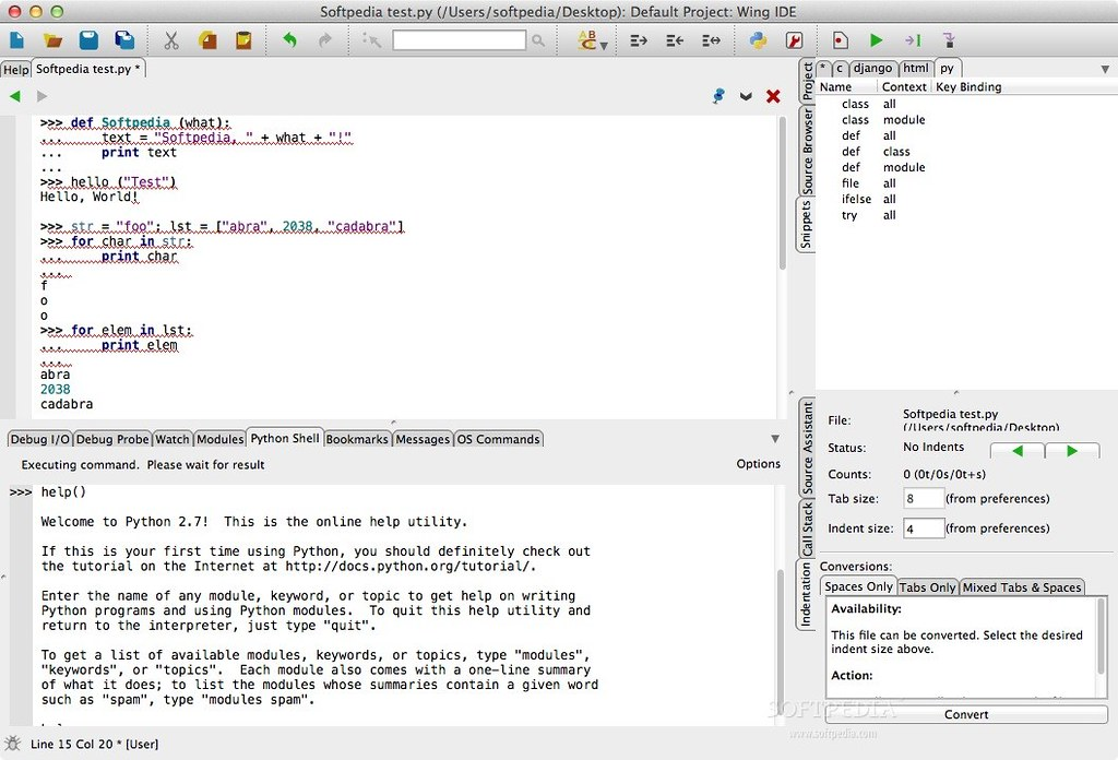 Wing IDE Professional 6.0.8 An intuitive Integrated Development Environment