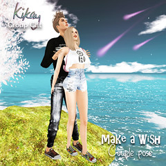 [Kikay] Make a Wish Couple Pose