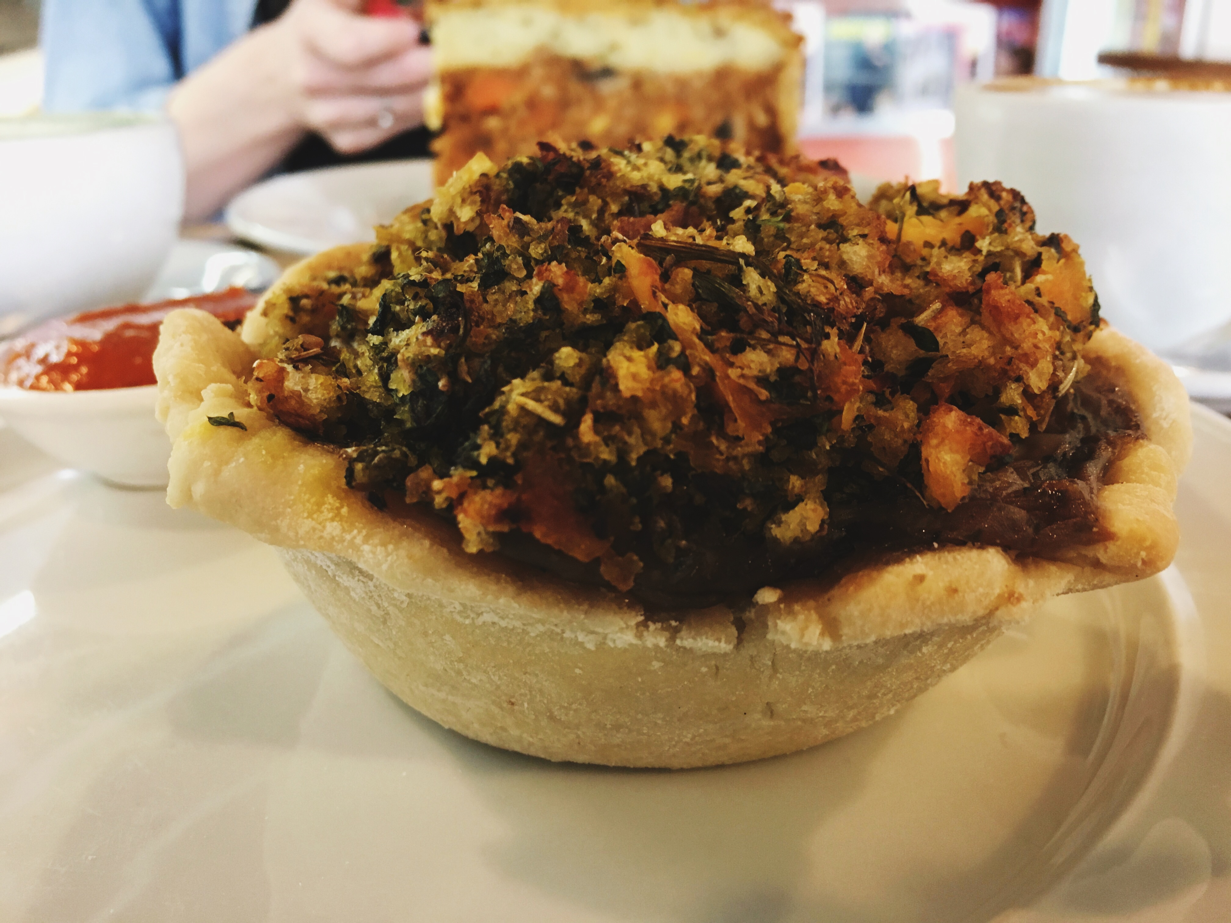 Lentil Mushroom Pie