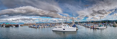 Fishermans Wharf and Marina - Monterey, CA