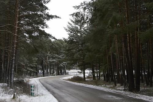 Carretera y Nieve
