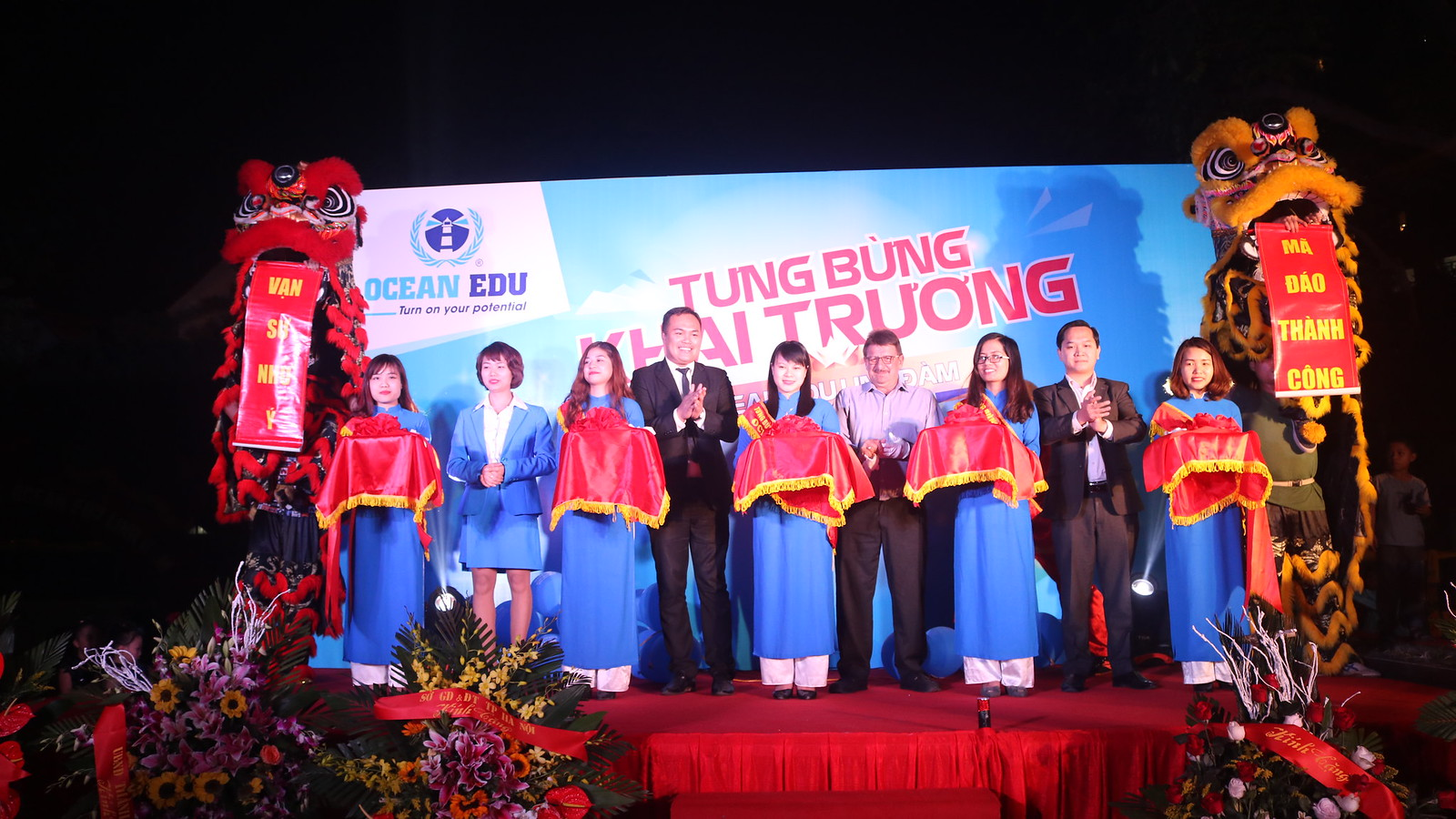 Ocean Edu Linh dam Opening