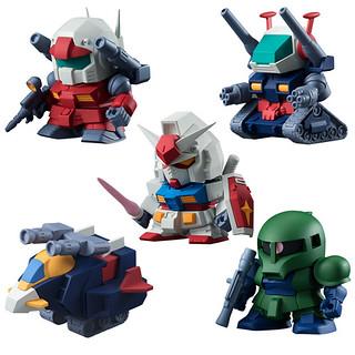 Build Model Gundam 《鋼彈橡皮擦》第三彈食玩