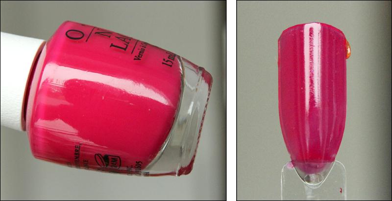 OPI Pen & pink swatch