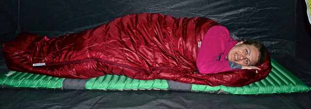 therm-a-rest women's down sleeping bag