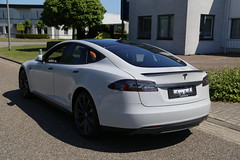 Carwrap Tesla Model S P85D