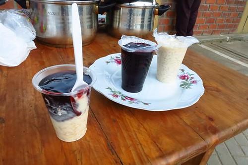 Mazamorra & arroz con leche