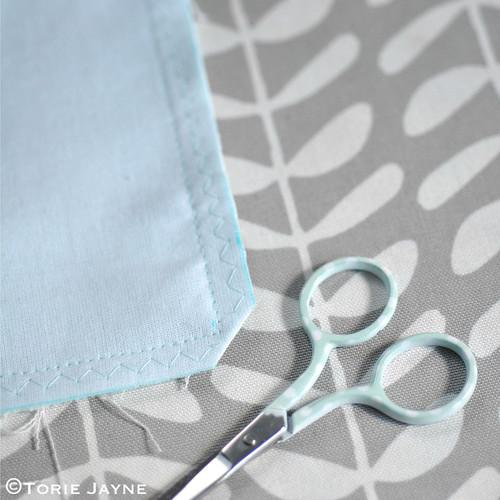 Cross stitch cushion tutorial 8