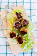 Asian-Style Turkey-Pork Meatballs