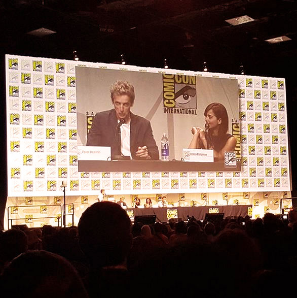 SDCC Doctor Who Peter Capaldi