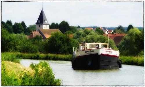 Harskirchen - Canal des houillères de la Sarre