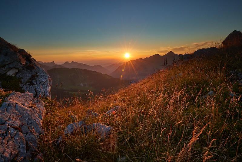 Last sun rays - Gastlosen