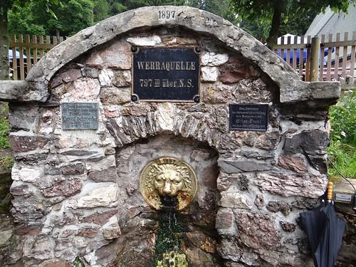 Werraquelle Fehrenbach