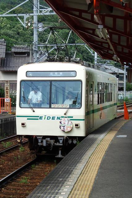 2015/07 叡山電車×わかばガール ヘッドマーク車両 #03