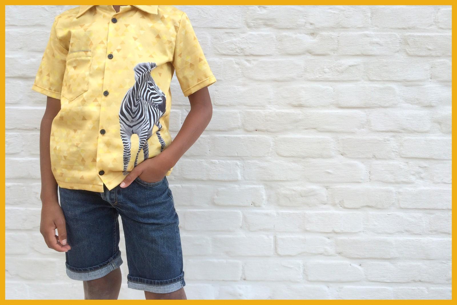 bambiblauw shirt (front)
