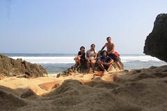 At Pringjono Beach