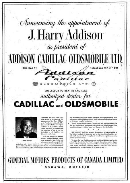 Vintage Ad: Addison Takes Over 832 Bay
