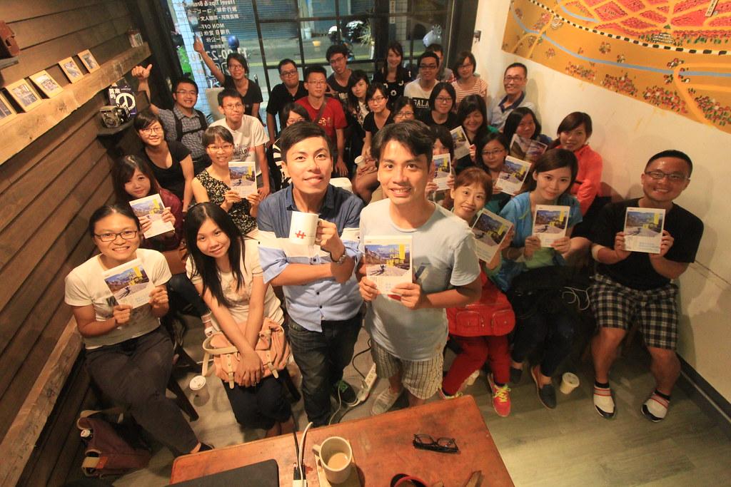 2015.06.12彰化-旅咖啡《我在西藏曬靈魂-新書分享會》