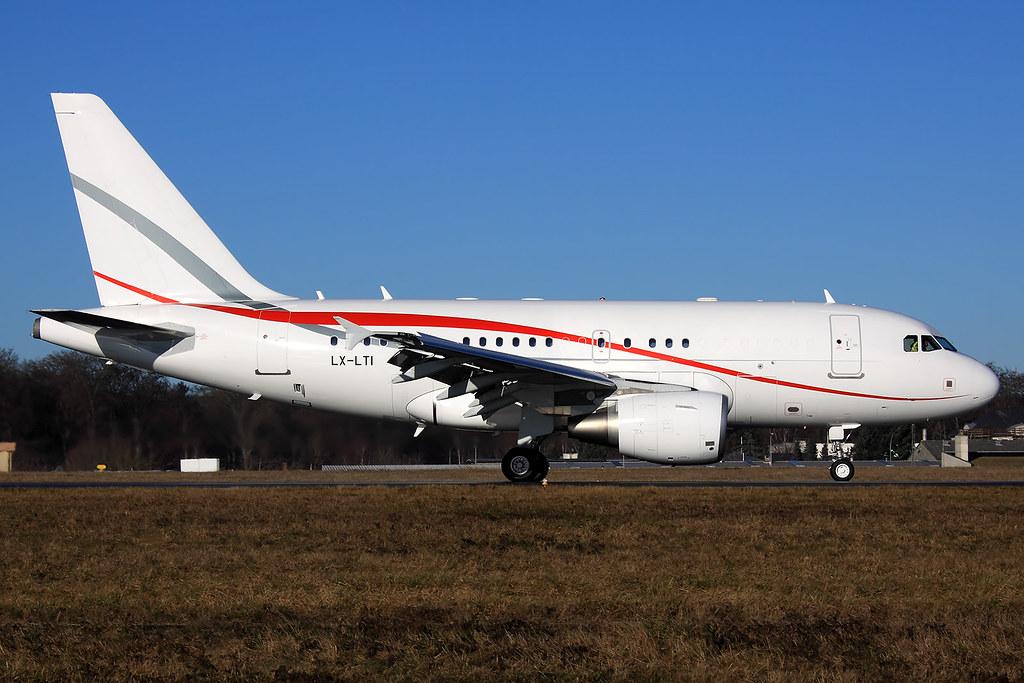 LX-LTI - A318 - Global Jet Luxembourg