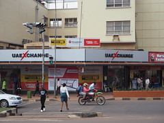 Foreign exchange bureau in Uganda