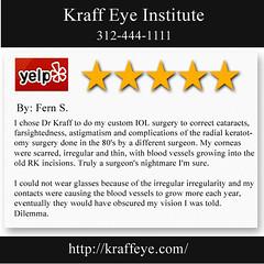 Laser Eye Surgery Chicago IL - Kraff Eye Institute (312) 444-1111