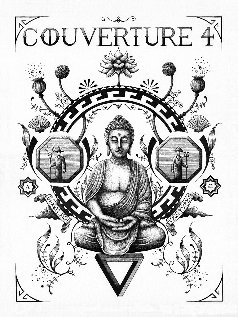 Illustration Bouddha