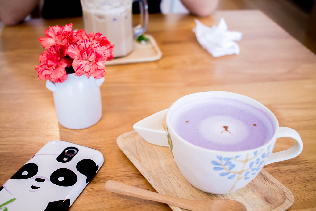 Taro Tea Latte