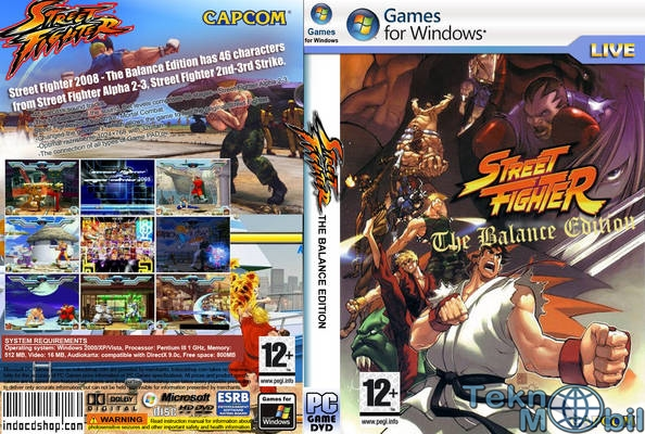Street Fighter The Balance Edition Full